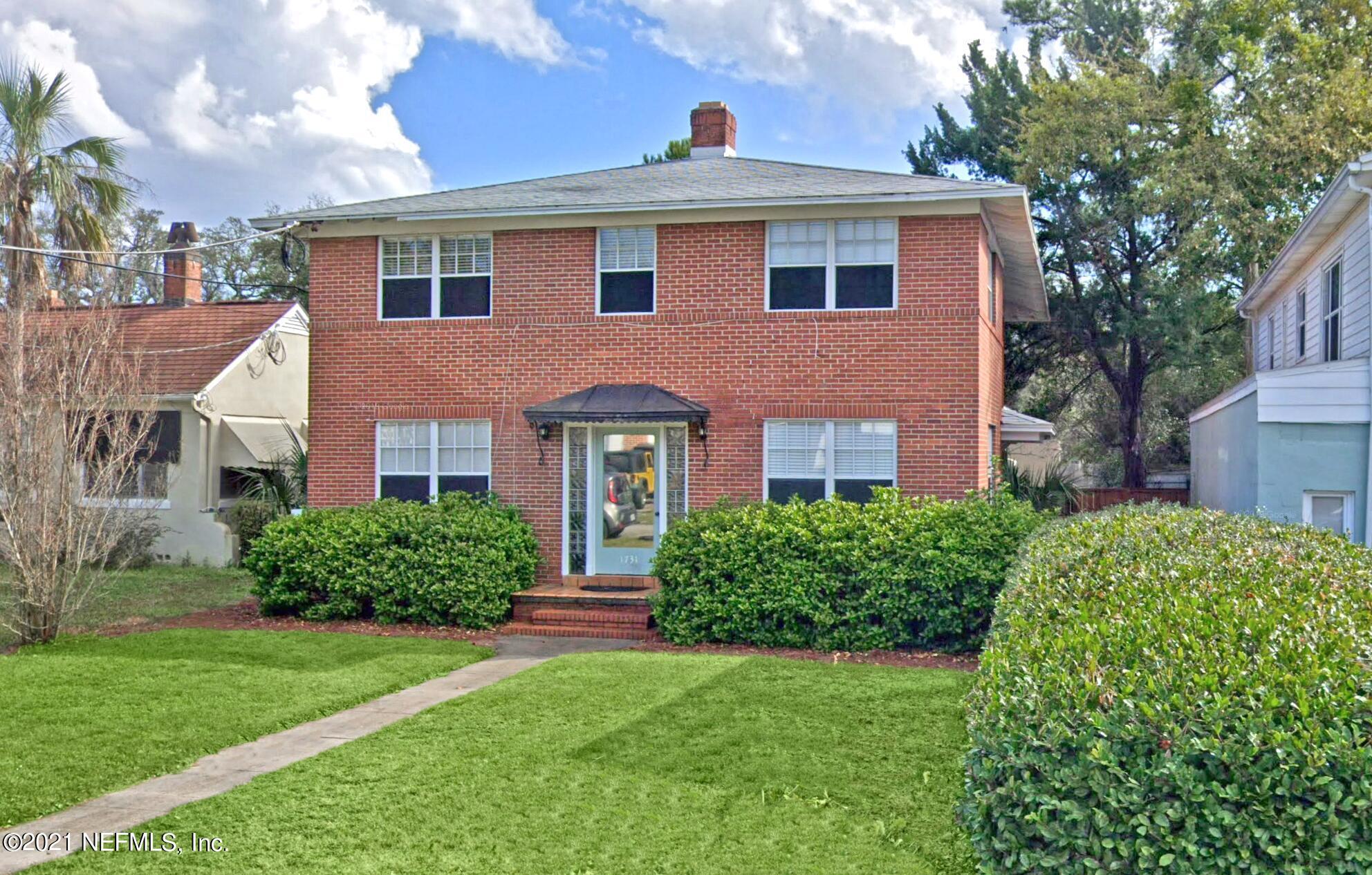 1731 FLAGLER, JACKSONVILLE, FLORIDA 32207, 5 Bedrooms Bedrooms, ,5 BathroomsBathrooms,Investment / MultiFamily,For sale,FLAGLER,1107127