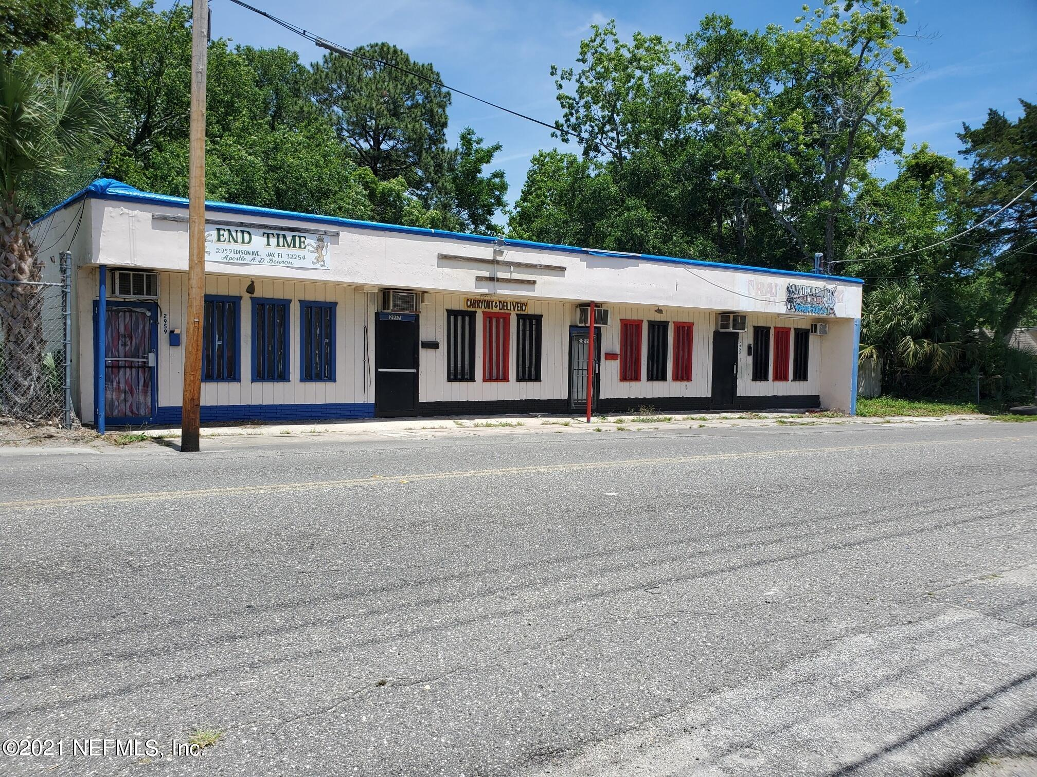 2953 EDISON, JACKSONVILLE, FLORIDA 32254, ,Commercial,For sale,EDISON,1108819