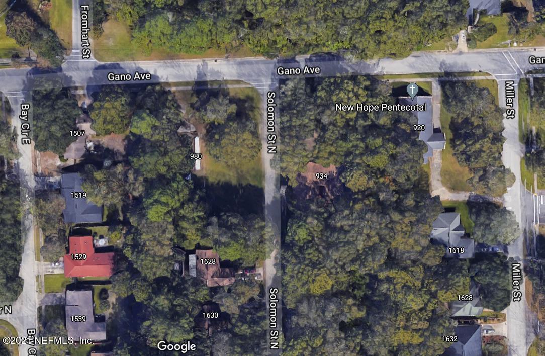 980 GANO, ORANGE PARK, FLORIDA 32073, ,Vacant land,For sale,GANO,1111021
