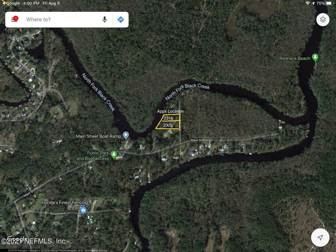 2316 NORTH, MIDDLEBURG, FLORIDA 32068, ,Vacant land,For sale,NORTH,1111943