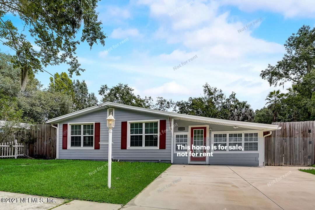 2865 ROBINETTE, ORANGE PARK, FLORIDA 32073, 3 Bedrooms Bedrooms, ,2 BathroomsBathrooms,Residential,For sale,ROBINETTE,1128793