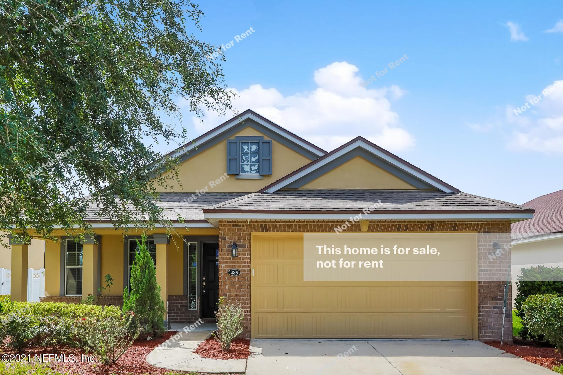 485 GLENDALE, ORANGE PARK, FLORIDA 32065, 3 Bedrooms Bedrooms, ,2 BathroomsBathrooms,Residential,For sale,GLENDALE,1131650