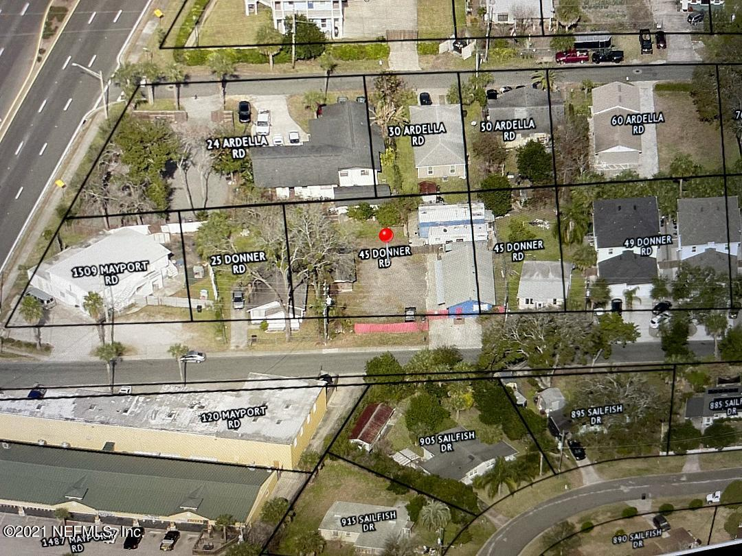 45-A DONNER, ATLANTIC BEACH, FLORIDA 32233, ,Commercial,For sale,DONNER,1136150