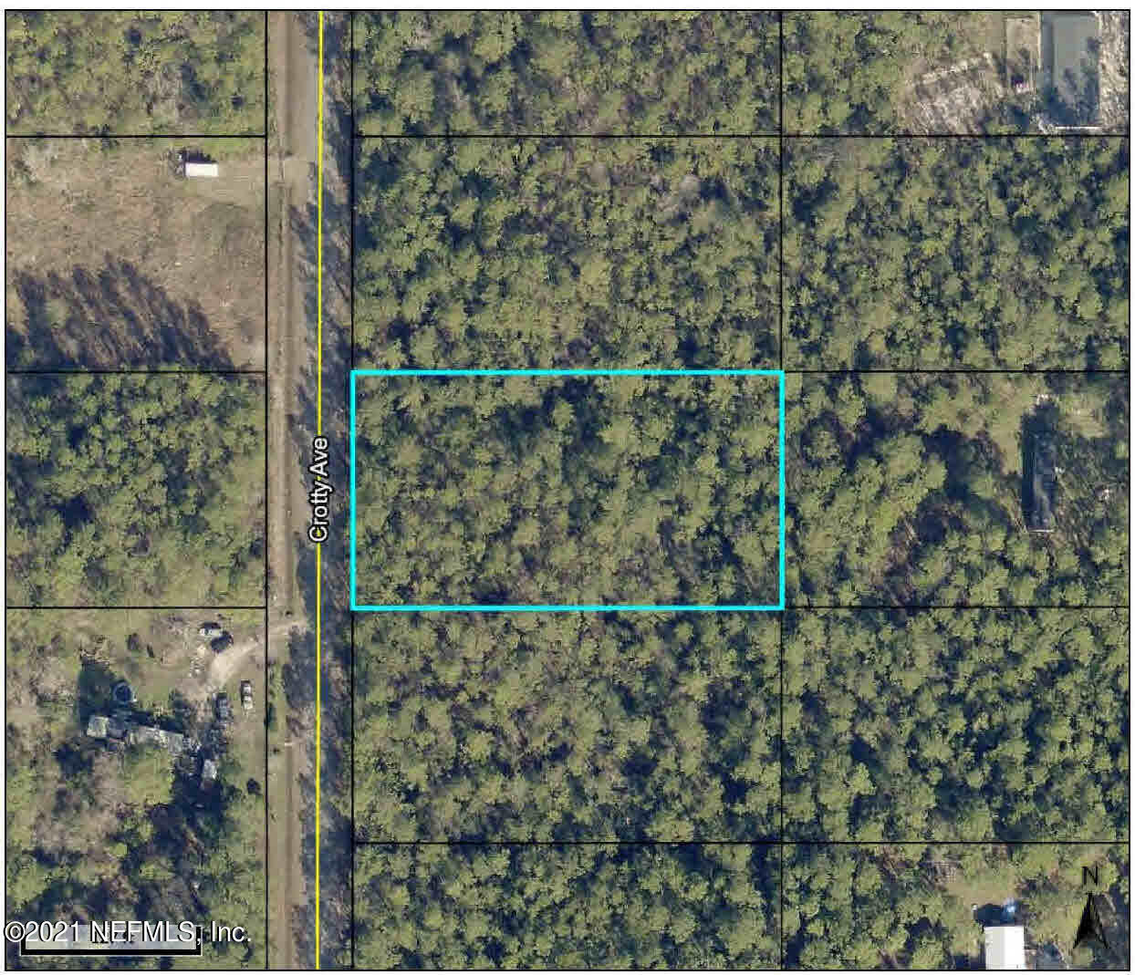 9930 CROTTY, HASTINGS, FLORIDA 32145, ,Vacant land,For sale,CROTTY,1136669
