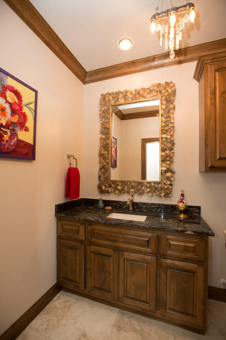 Game Room Half Bath