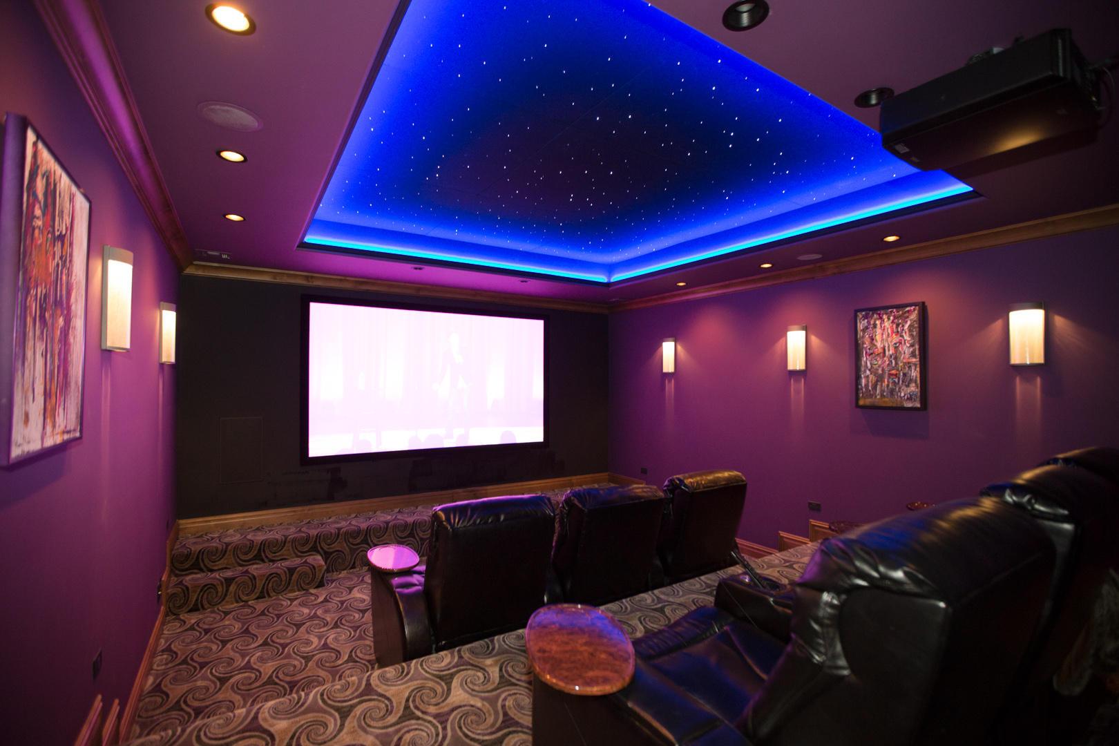 Media Room W 7.1 Surround Sound