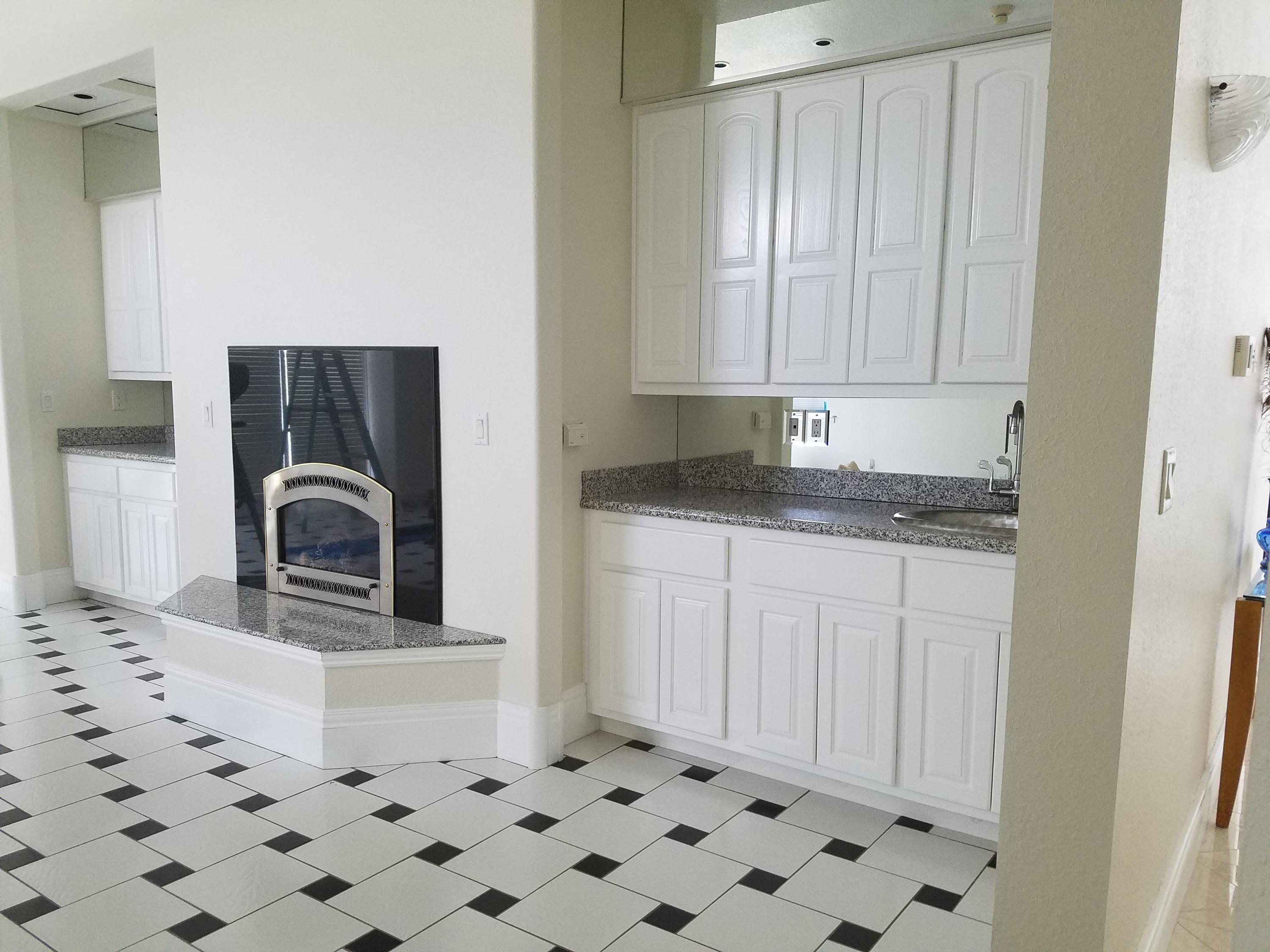 1 of 3 Fireplace