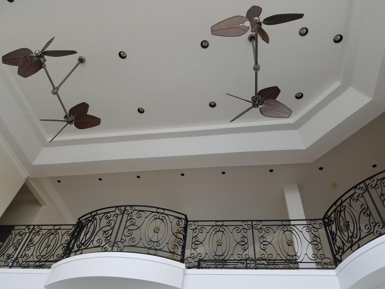 View of Grand Room 24' Ceilings