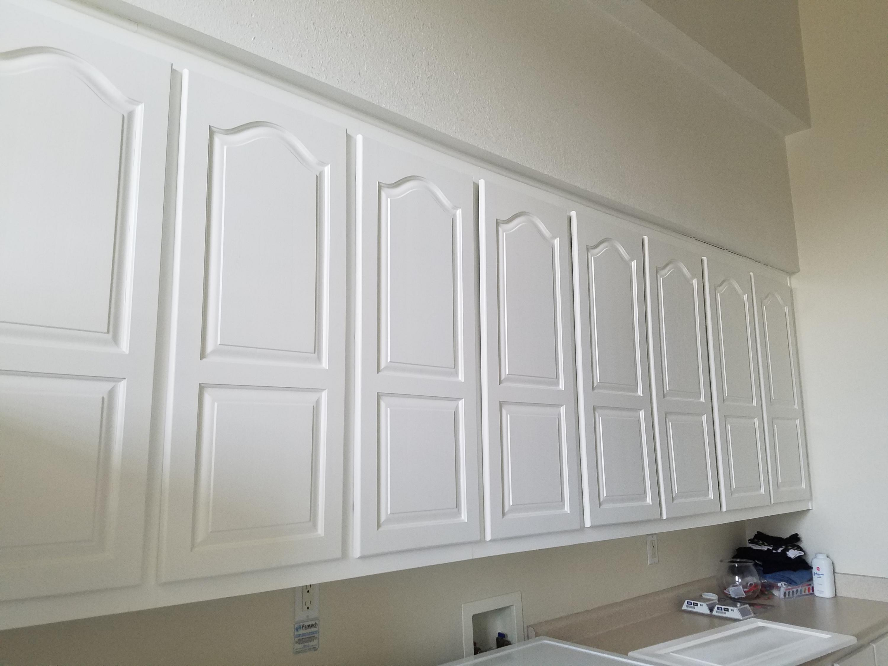 Cabinets in Utility Room