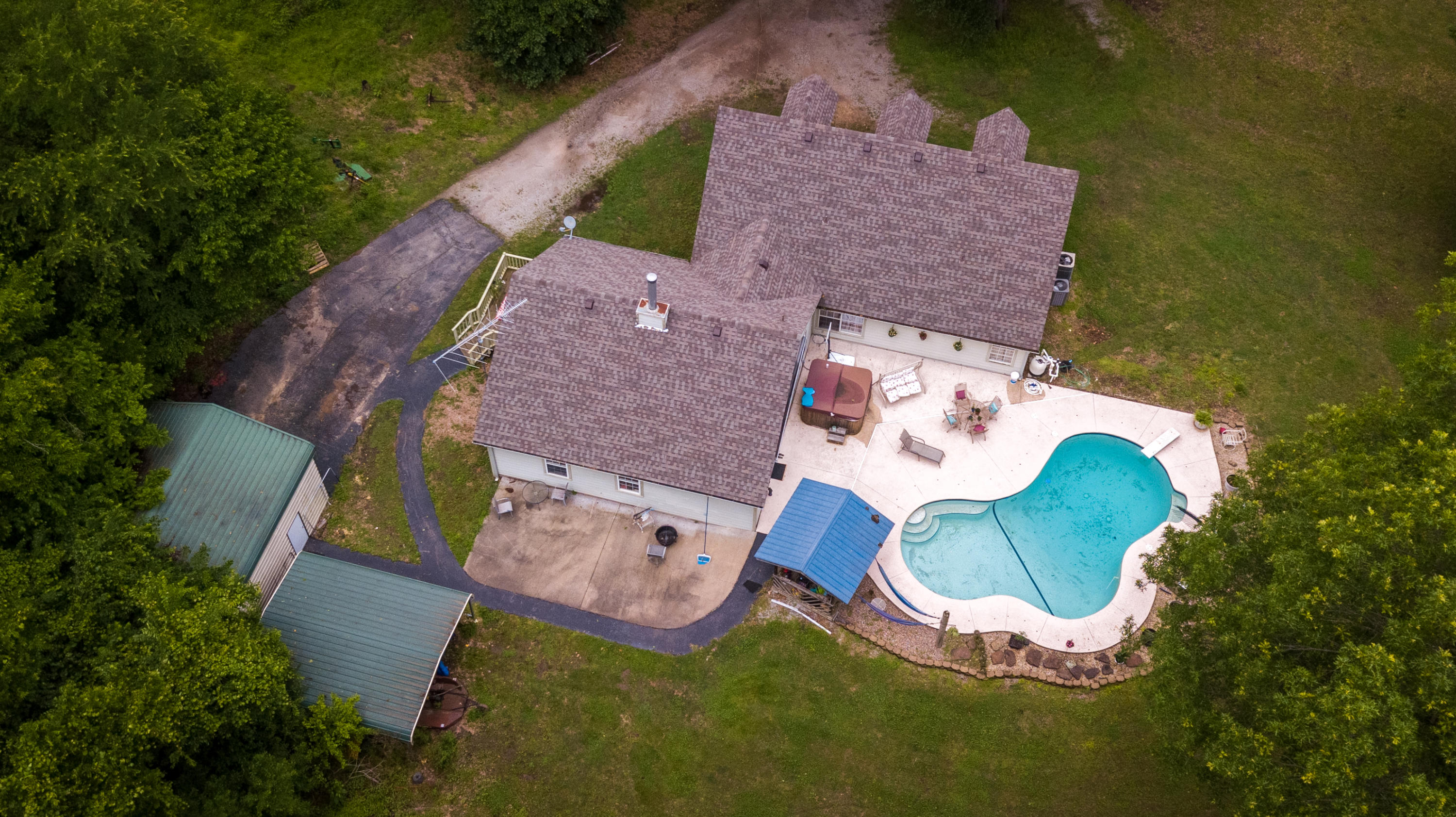 27405 S 626 Rd, Grove, OK 74344 - Top View of Property