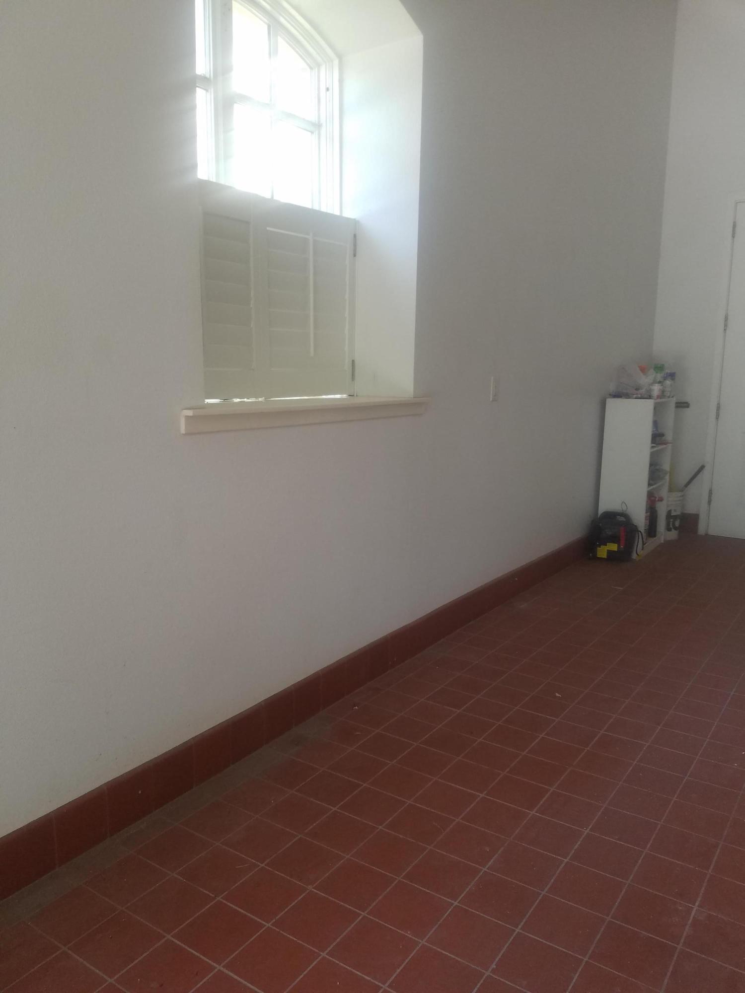 Garage Tiled Floor
