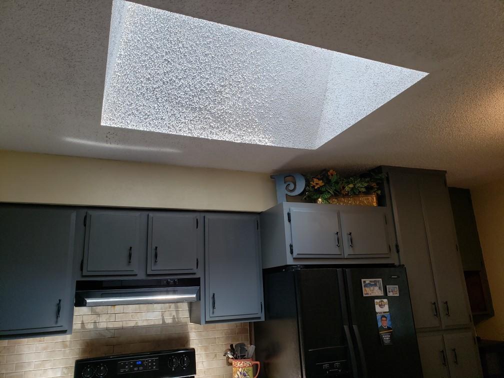 Sky Light in Kitchen
