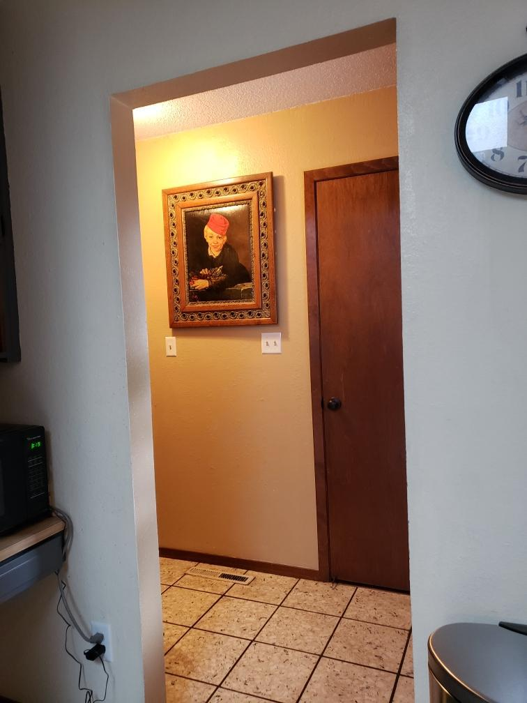 Entry Hall from Kitchen