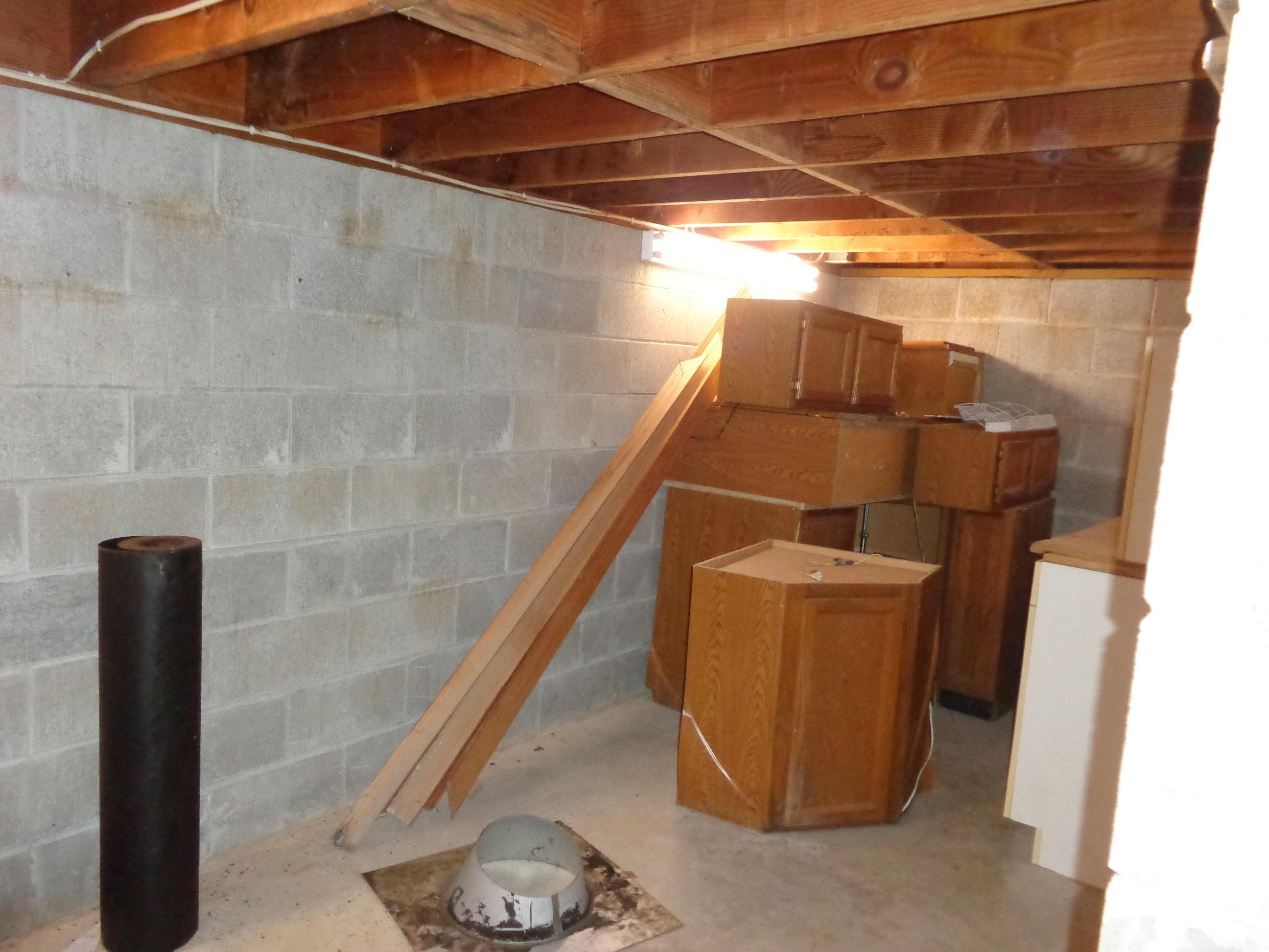 Large Storage Under House