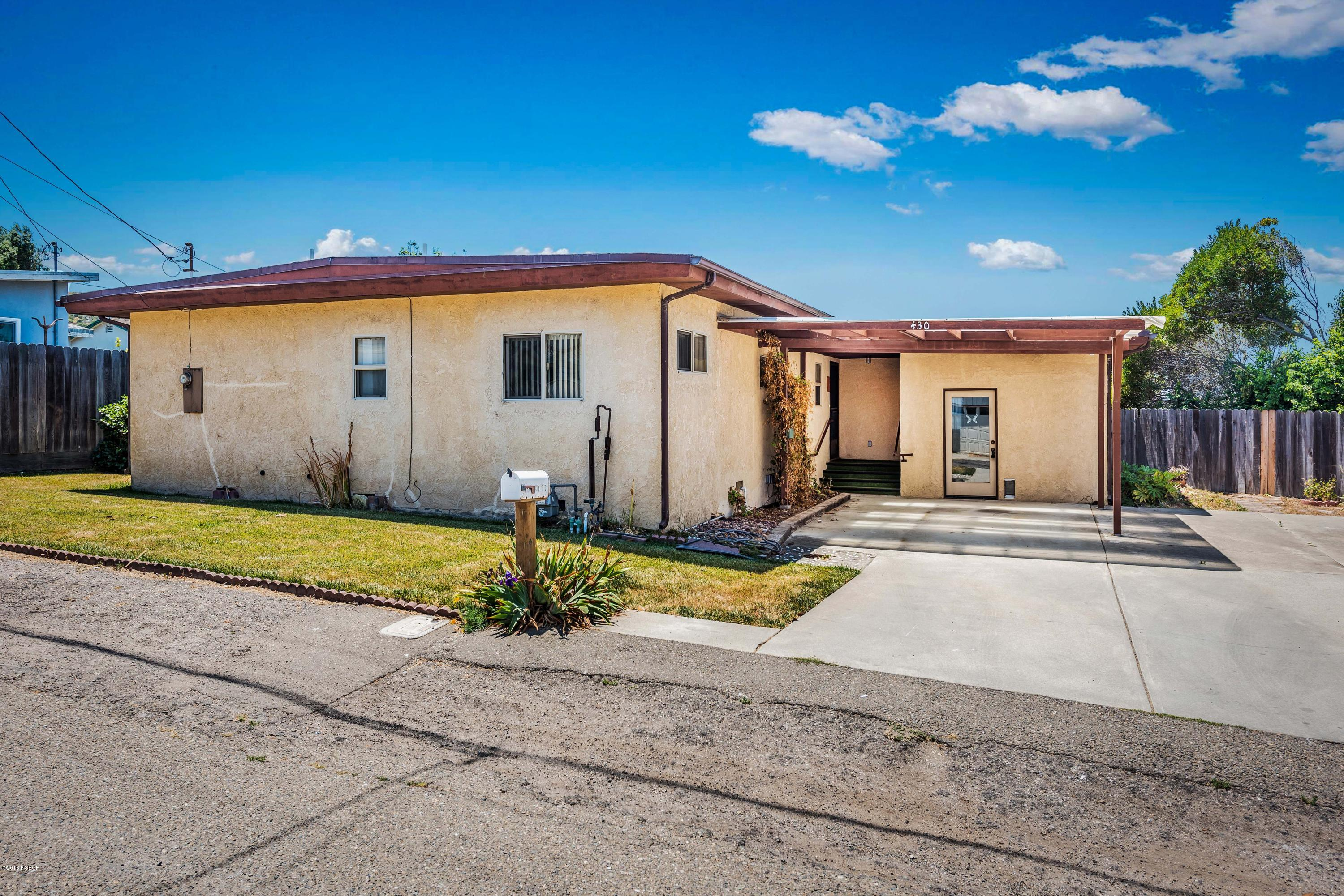 Property photo for 430 S D Street Lompoc, CA 93436 - 18002170