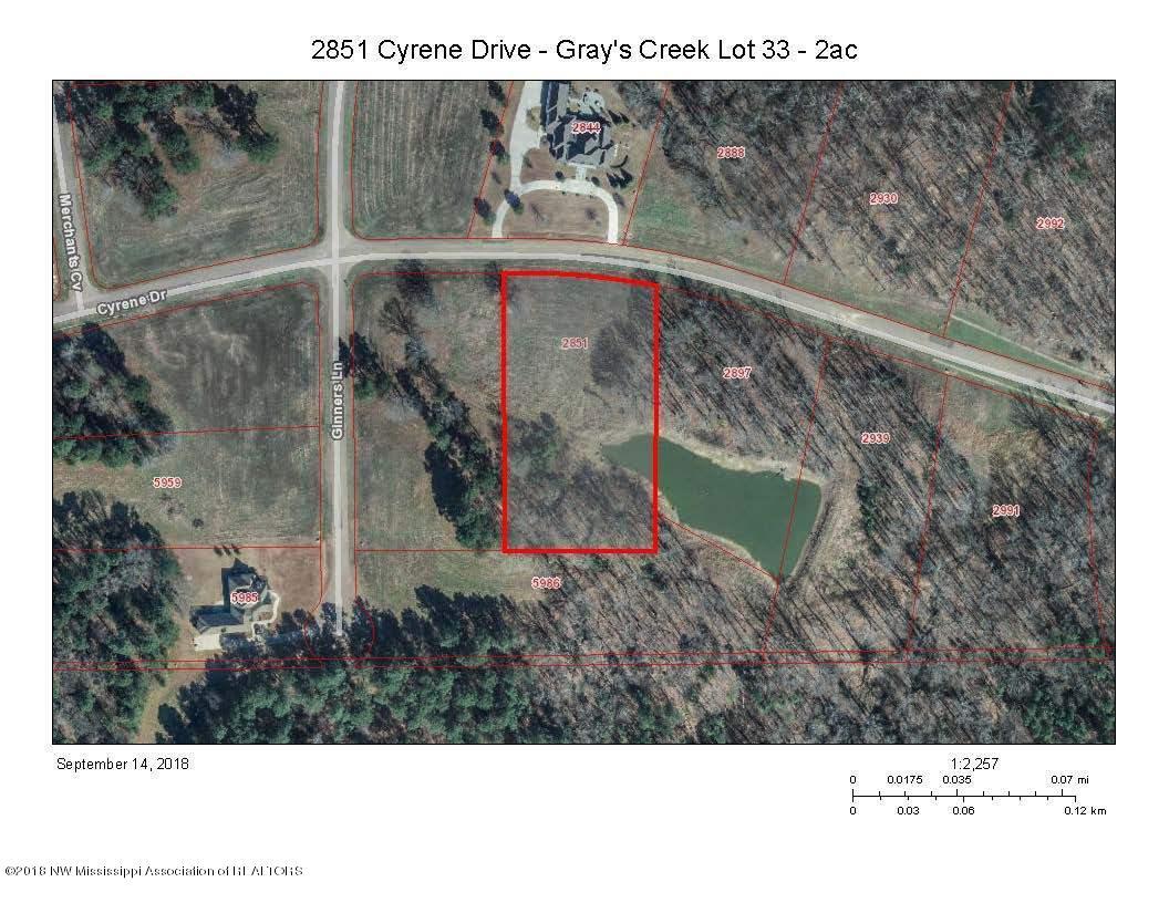 2851 Cyrene Drive Hernando, MS 38632 - MLS #: 318938