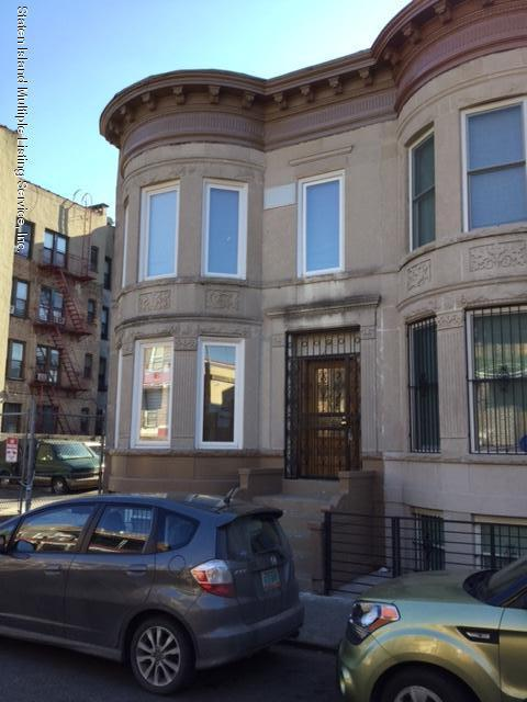 Two Family - Semi-Attached in Crown Heights - 1392 Lincoln Place  Brooklyn, NY 11213