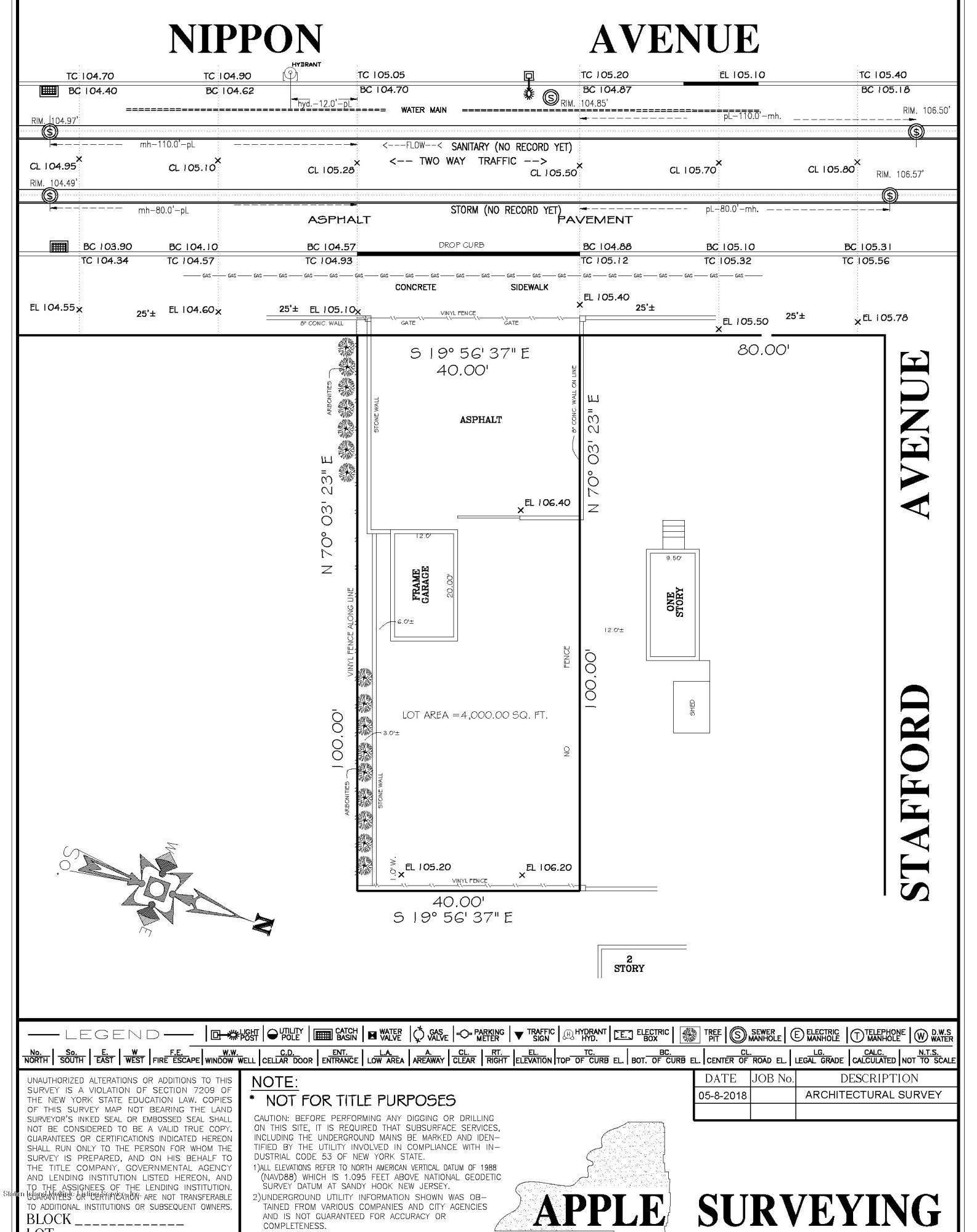 Nippon Avenue,Staten Island,New York,10312,United States,Land/Lots,Nippon,1121547
