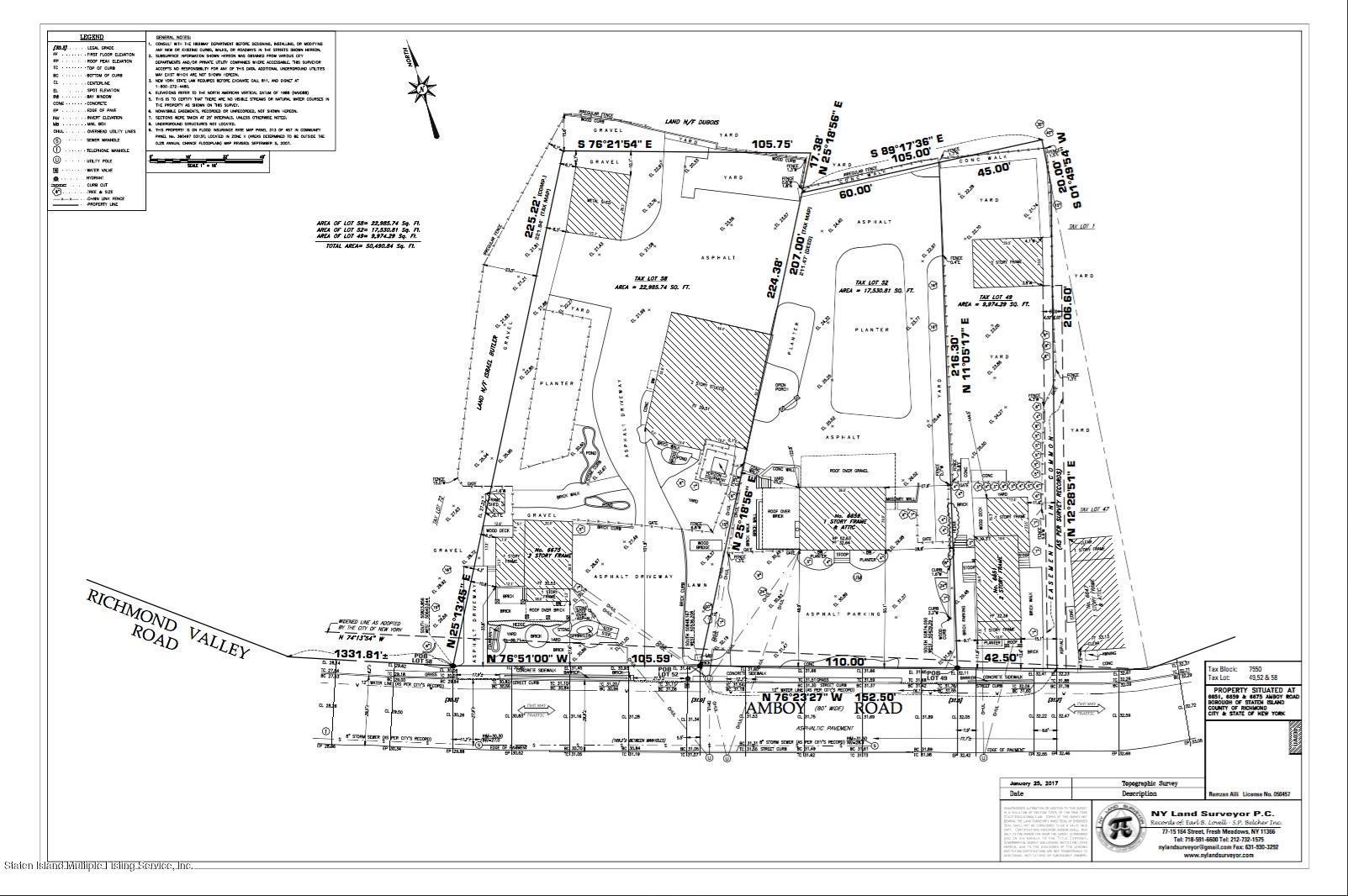 6651-6675 Amboy Road,Staten Island,New York,10309,United States,Land/Lots,Amboy,1122519