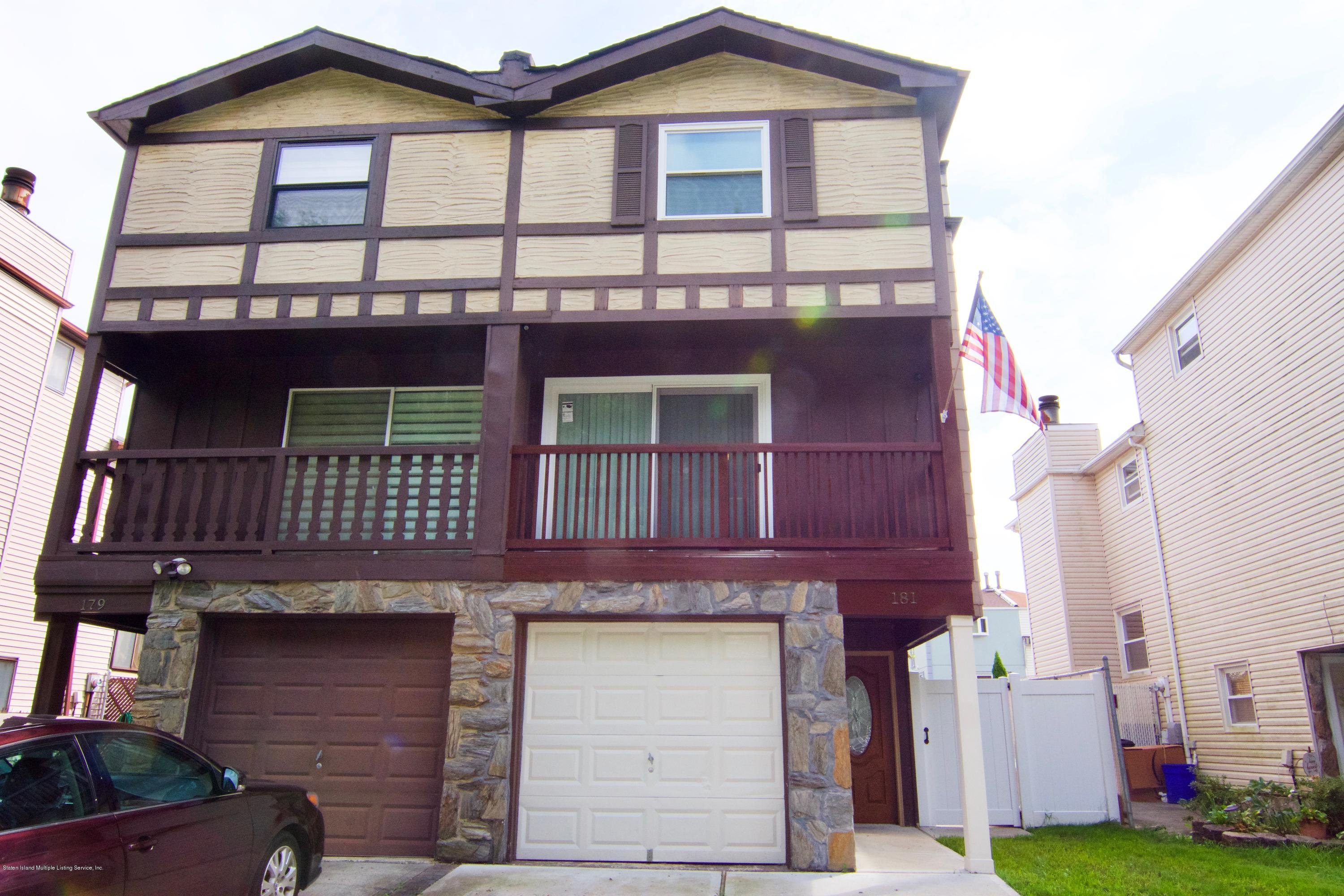 Single Family - Semi-Attached in New Springville - 181 Park Drive  Staten Island, NY 10314