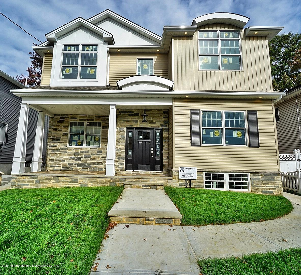 Two Family - Detached in S.E. Annadale - 169 Bathgate St   Staten Island, NY 10312