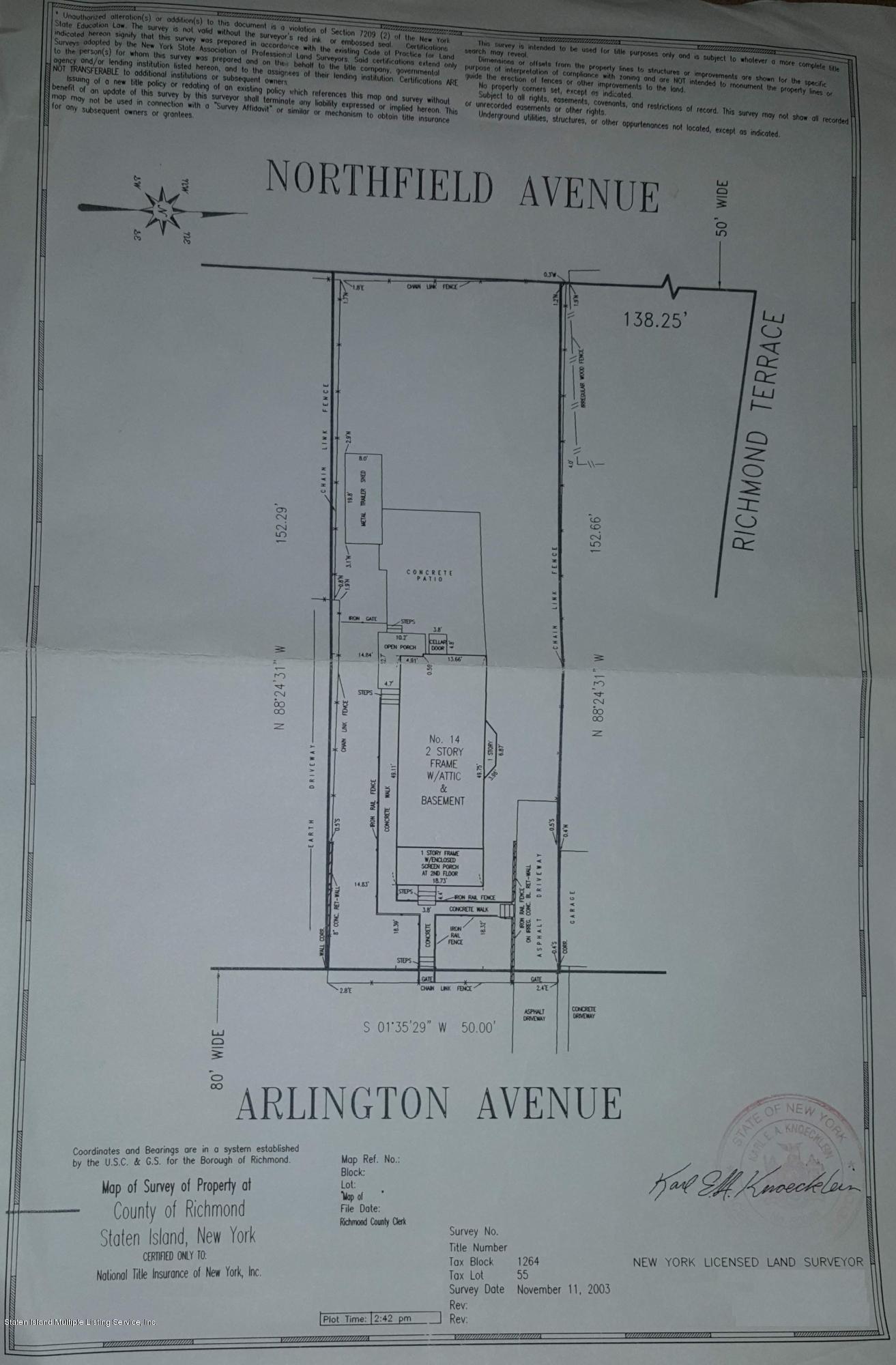 14 Arlington Avenue,Staten Island,New York,10303,United States,3 Bedrooms Bedrooms,7 Rooms Rooms,1 BathroomBathrooms,Residential,Arlington,1124475