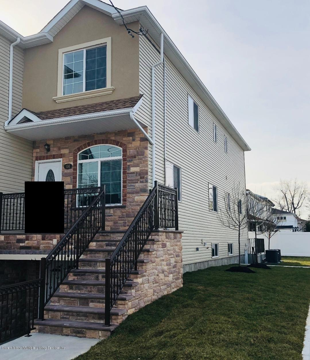Single Family - Semi-Attached 156 Hopkins Avenue  Staten Island, NY 10306, MLS-1125111-25