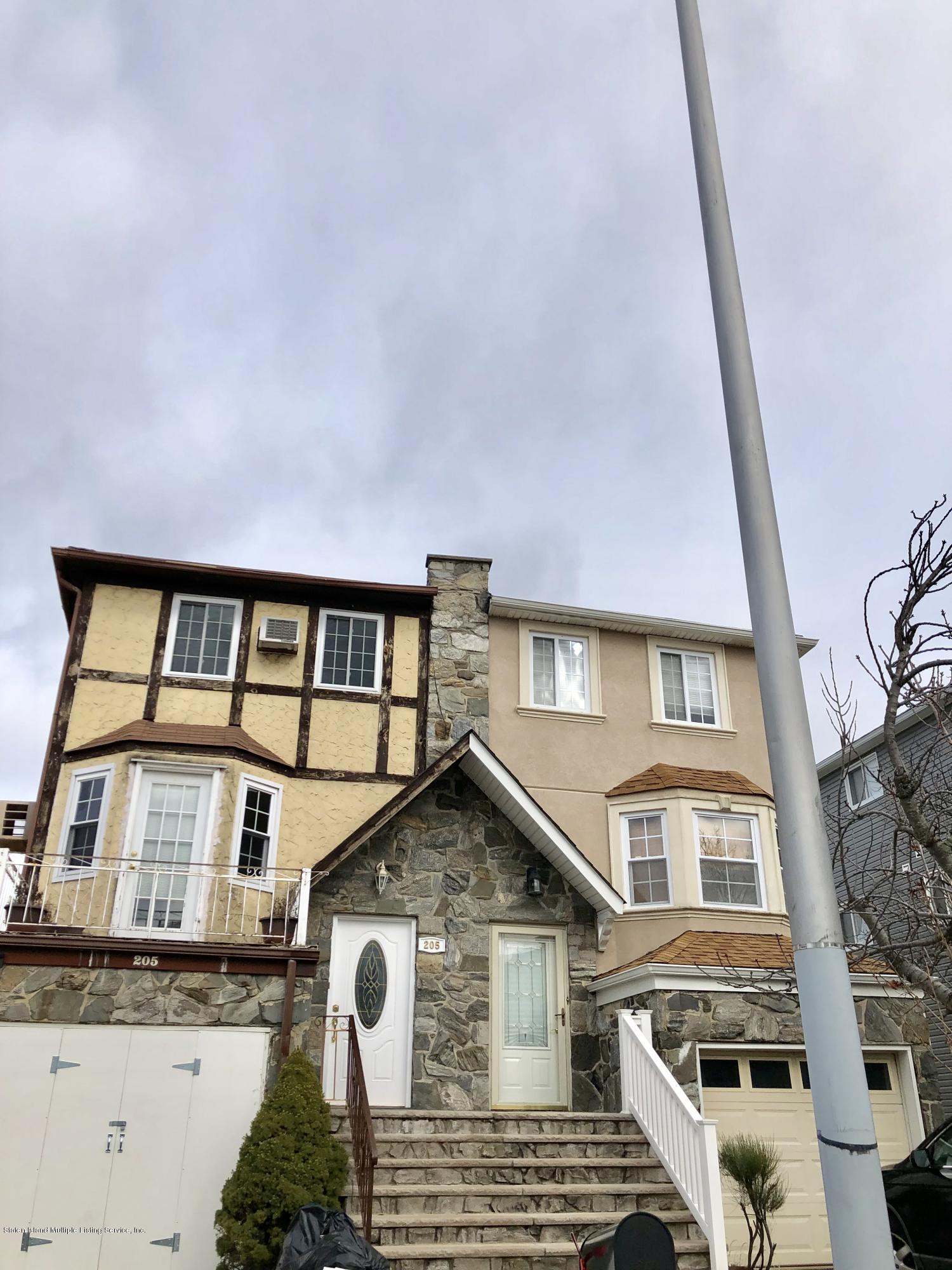 Single Family - Semi-Attached in New Springville - 205 Mcveigh Avenue  Staten Island, NY 10314