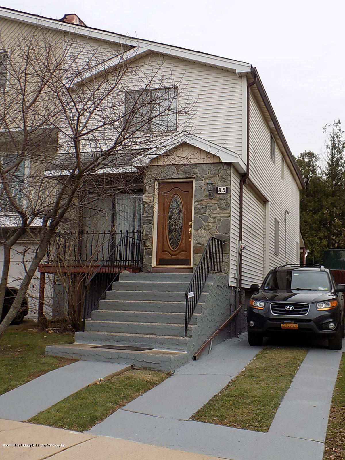 Single Family - Semi-Attached 85 Bogota Street  Staten Island, NY 10314, MLS-1126026-2