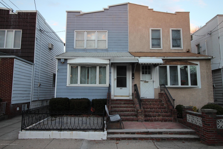 Single Family - Semi-Attached in Bensonhurst - 1667 73rd Street  Brooklyn, NY 11204