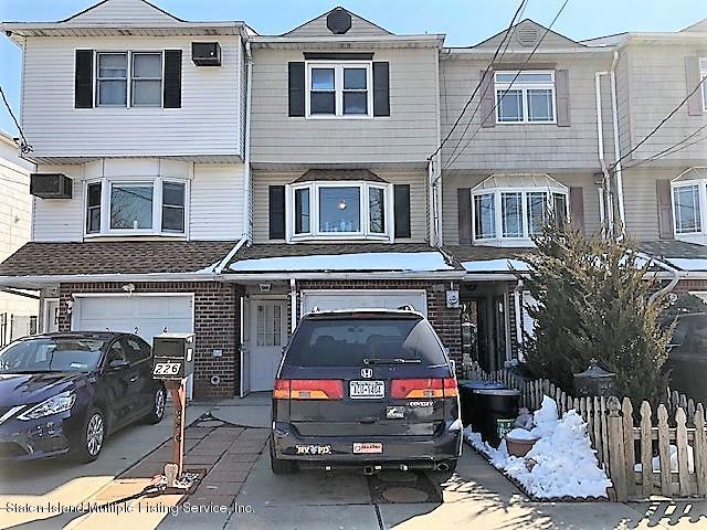 Single Family - Attached in New Dorp - 226 Cuba Avenue  Staten Island, NY 10306