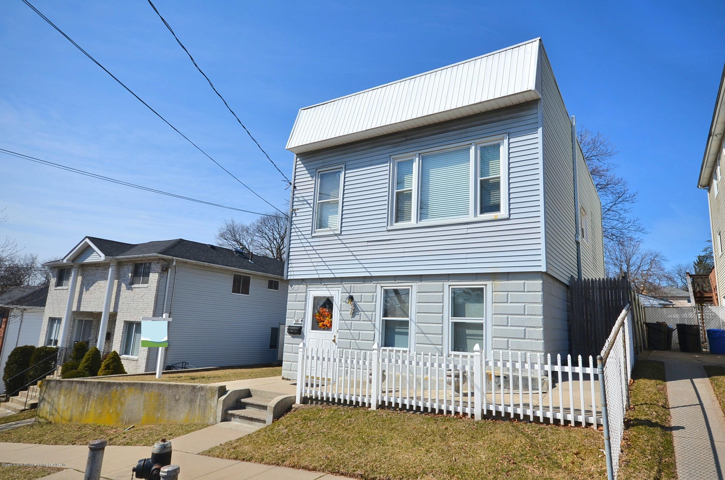 Two Family - Detached in Old Town - 101 Wilson Street  Staten Island, NY 10304