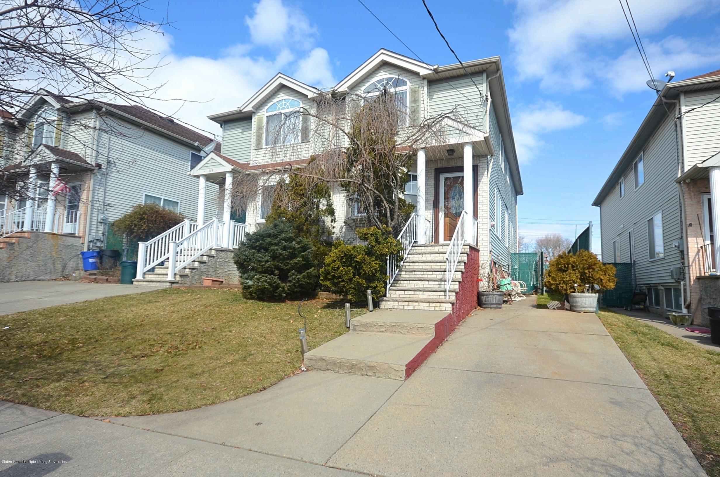 Single Family - Semi-Attached 447 Hillman Avenue  Staten Island, NY 10314, MLS-1126967-2