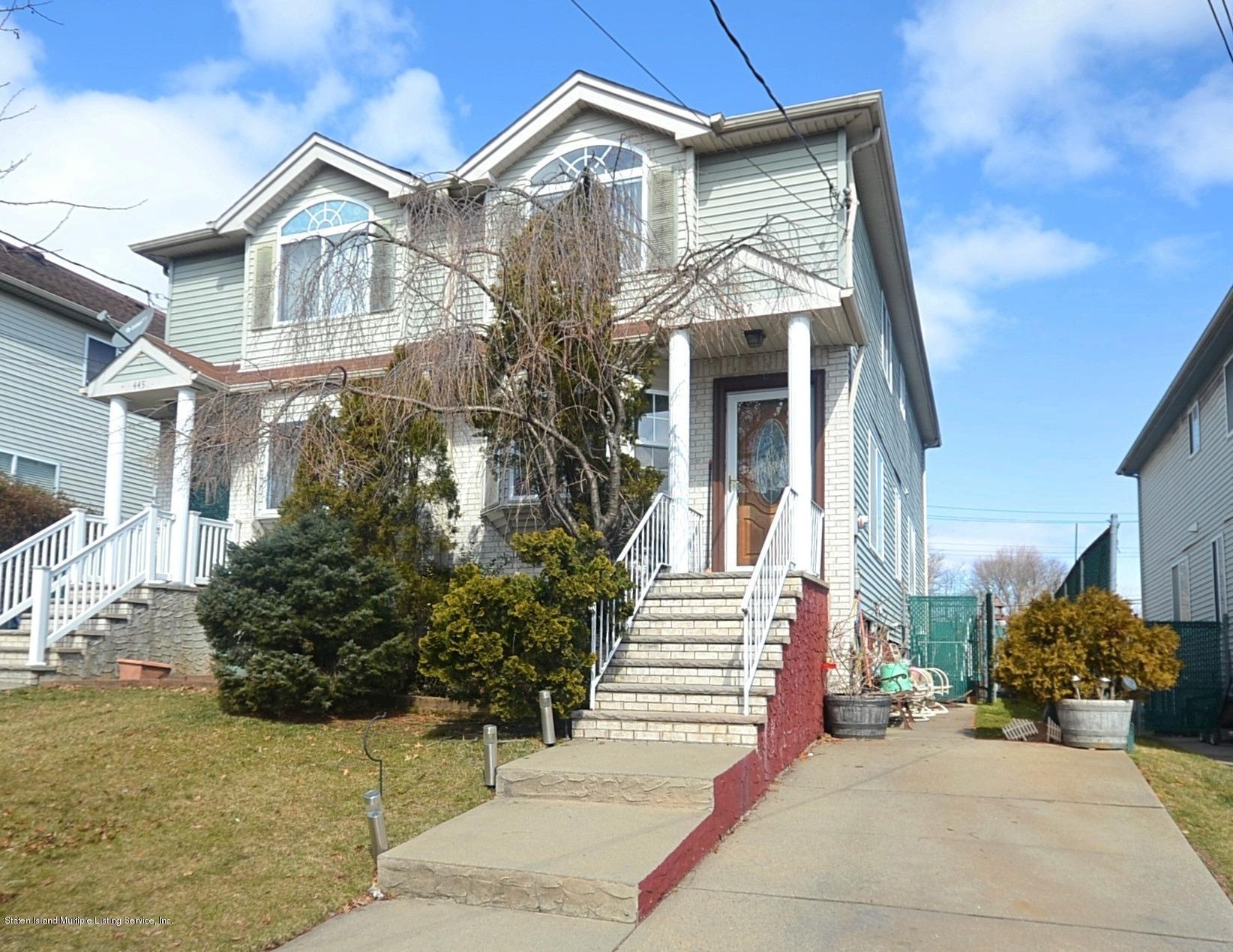 Single Family - Semi-Attached in Bulls Head - 447 Hillman Avenue  Staten Island, NY 10314