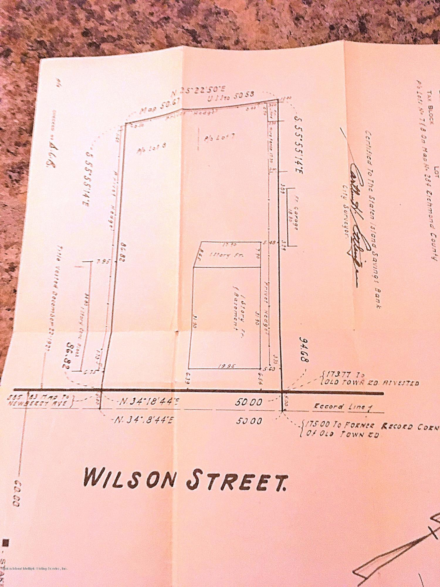 Land/Lots 101 Wilson Street  Staten Island, NY 10304, MLS-1126939-7