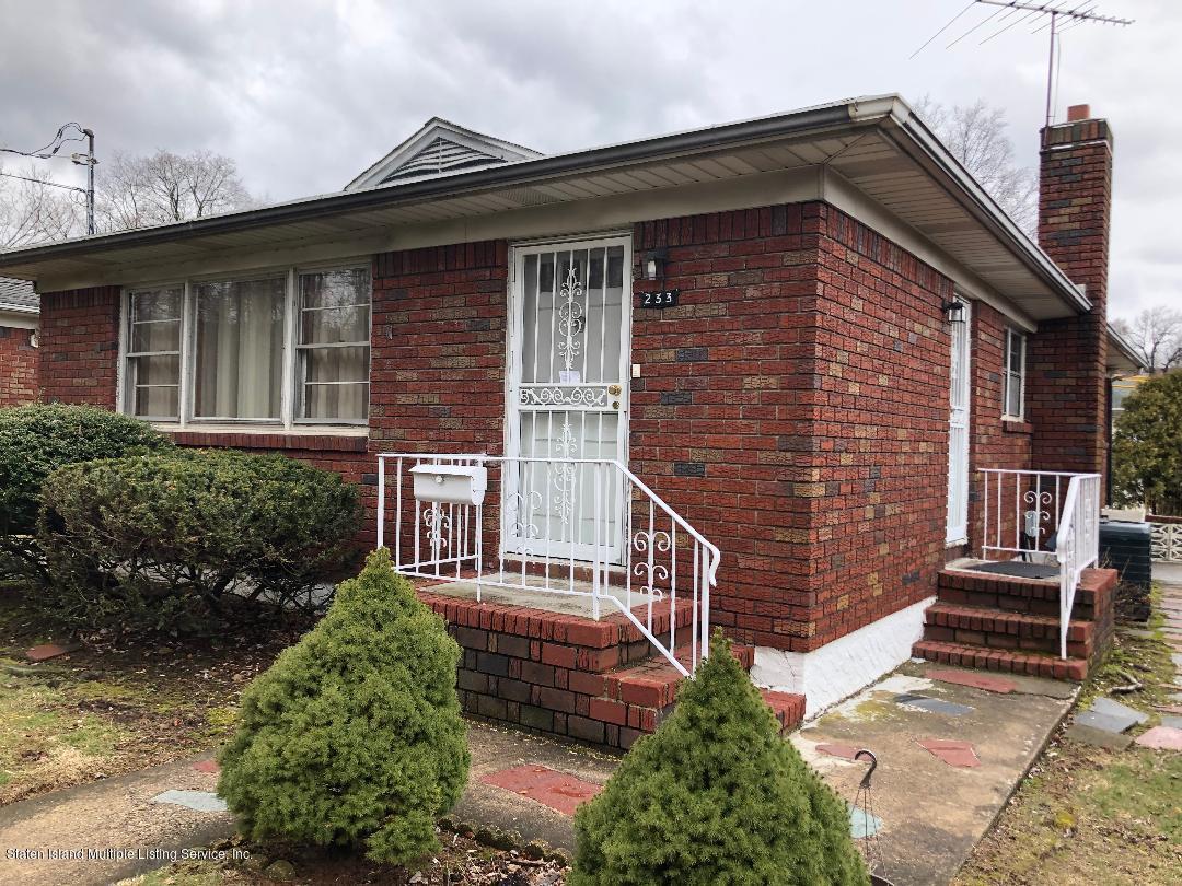 Single Family - Detached in Sunnyside - 233 Little Clove Road  Staten Island, NY 10301