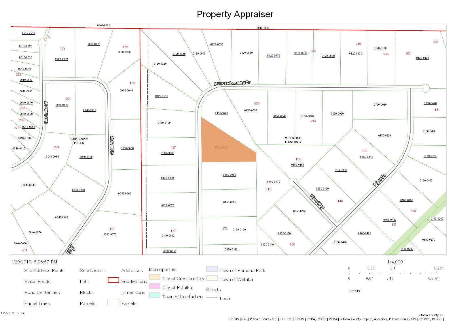 5 Acre Ocala, Florida Land for Sale – OHP5164 – Ocala Horse Properties