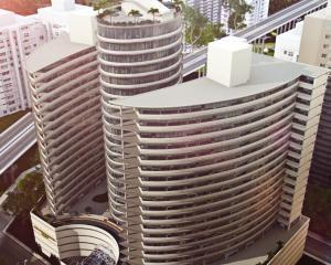 Apartamento En Alquileren Panama, Avenida Balboa, Panama, PA RAH: 17-4730