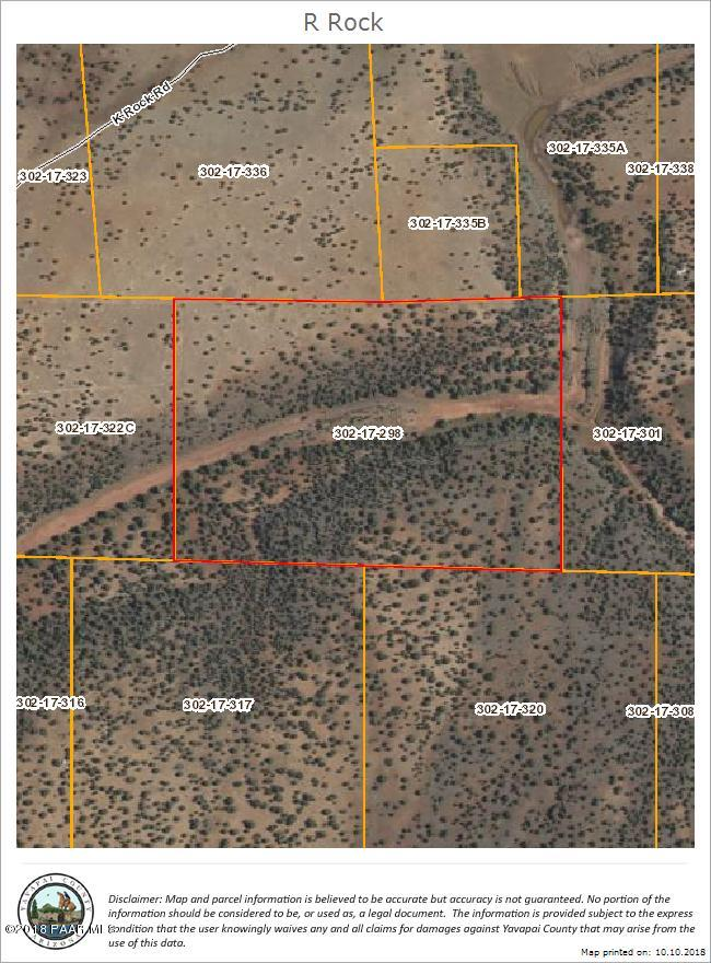 348 Off Of R Rock Rd Ash Fork, AZ 86320 - MLS #: 1016087