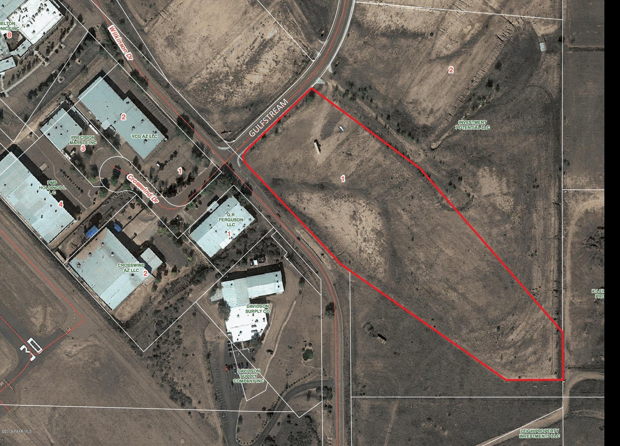 2101  Gulfstream Lot 1, one of homes for sale in Prescott