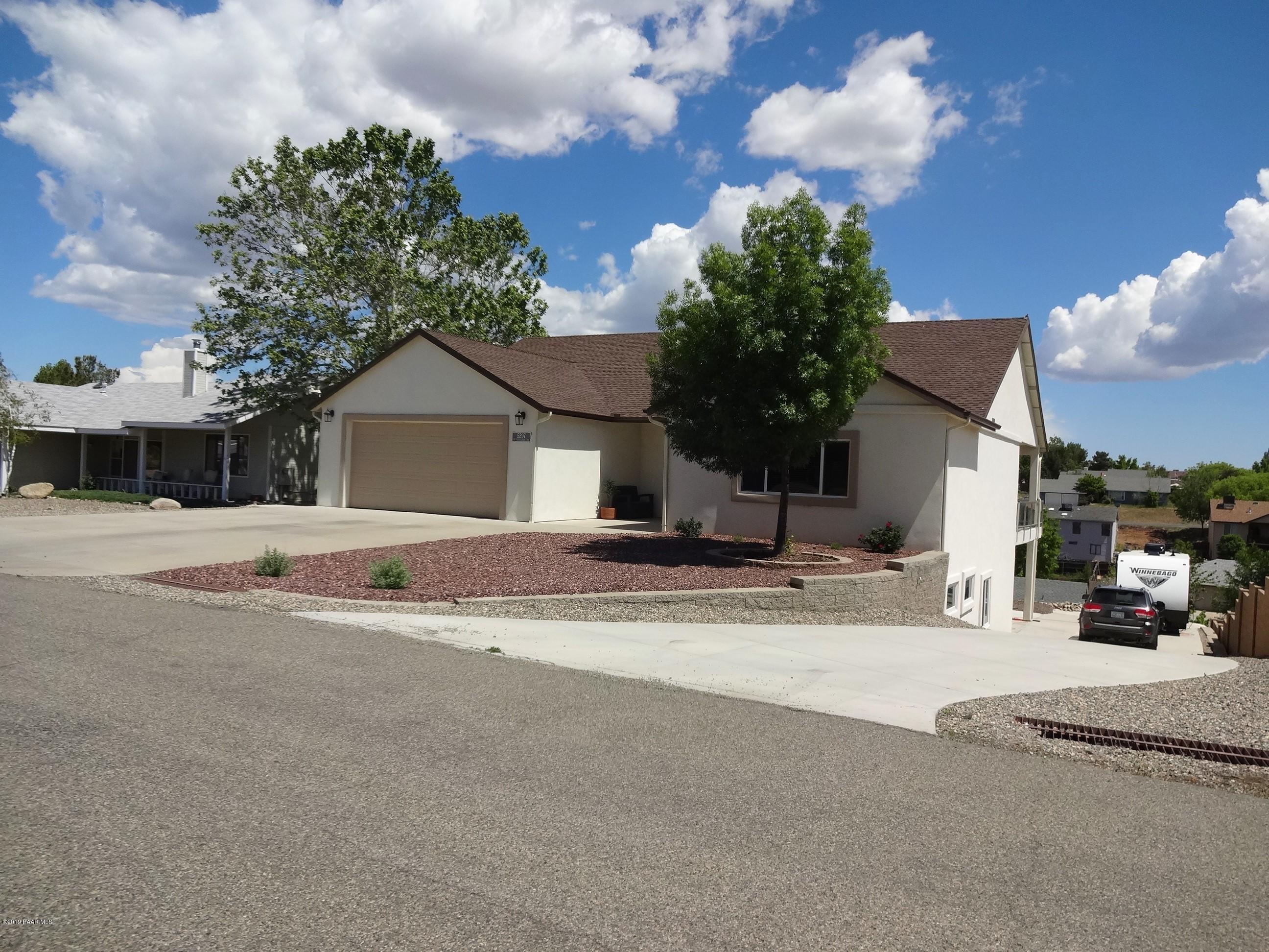 5397 N Saddleback Drive, Prescott Valley in Yavapai County, AZ 86314 Home for Sale