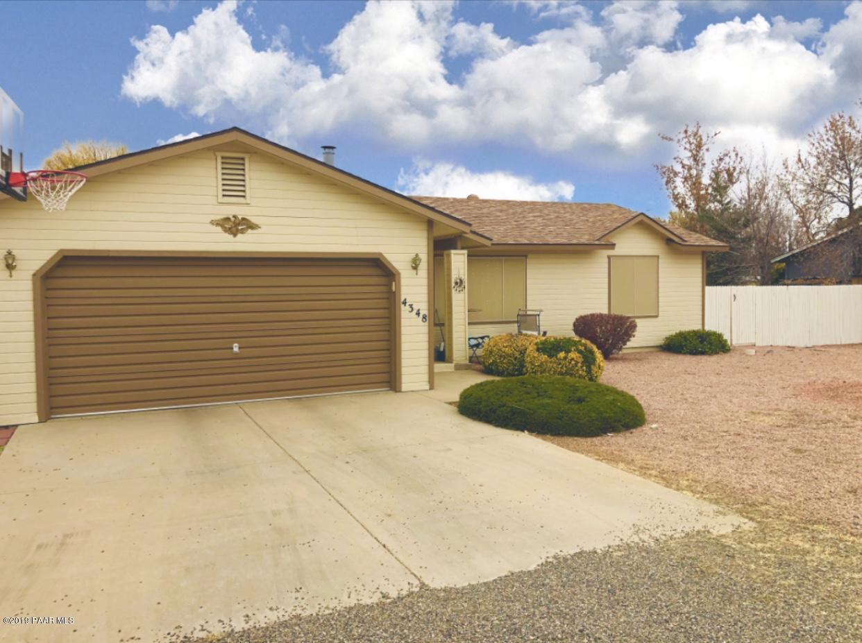 4348 N Calle Santa Cruz, Prescott Valley in Yavapai County, AZ 86314 Home for Sale