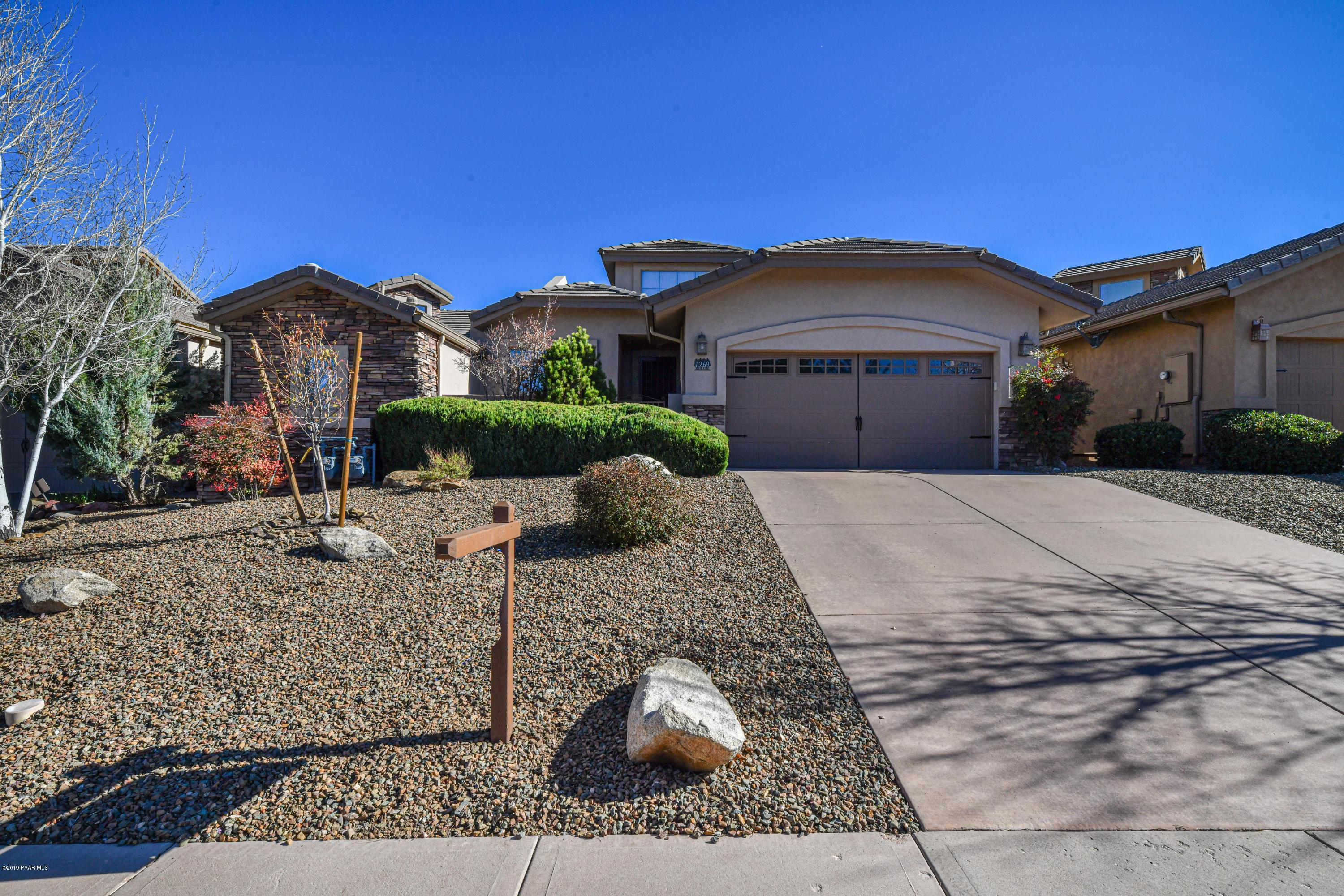 1269  Crown Ridge Drive, one of homes for sale in Prescott
