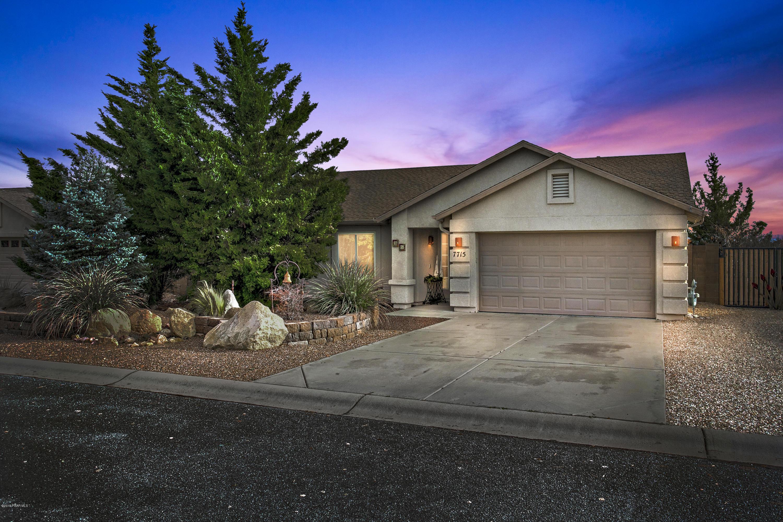 One of Prescott Valley 3 Bedroom Homes for Sale at 7715 N Sage Vista
