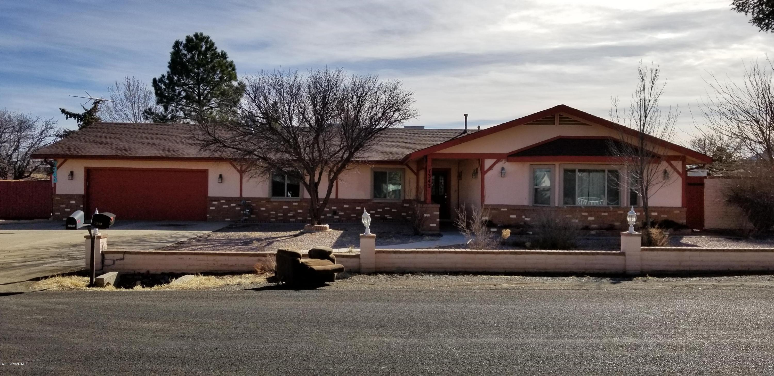 One of Prescott Valley 3 Bedroom Homes for Sale at 7343 E Lobo Way