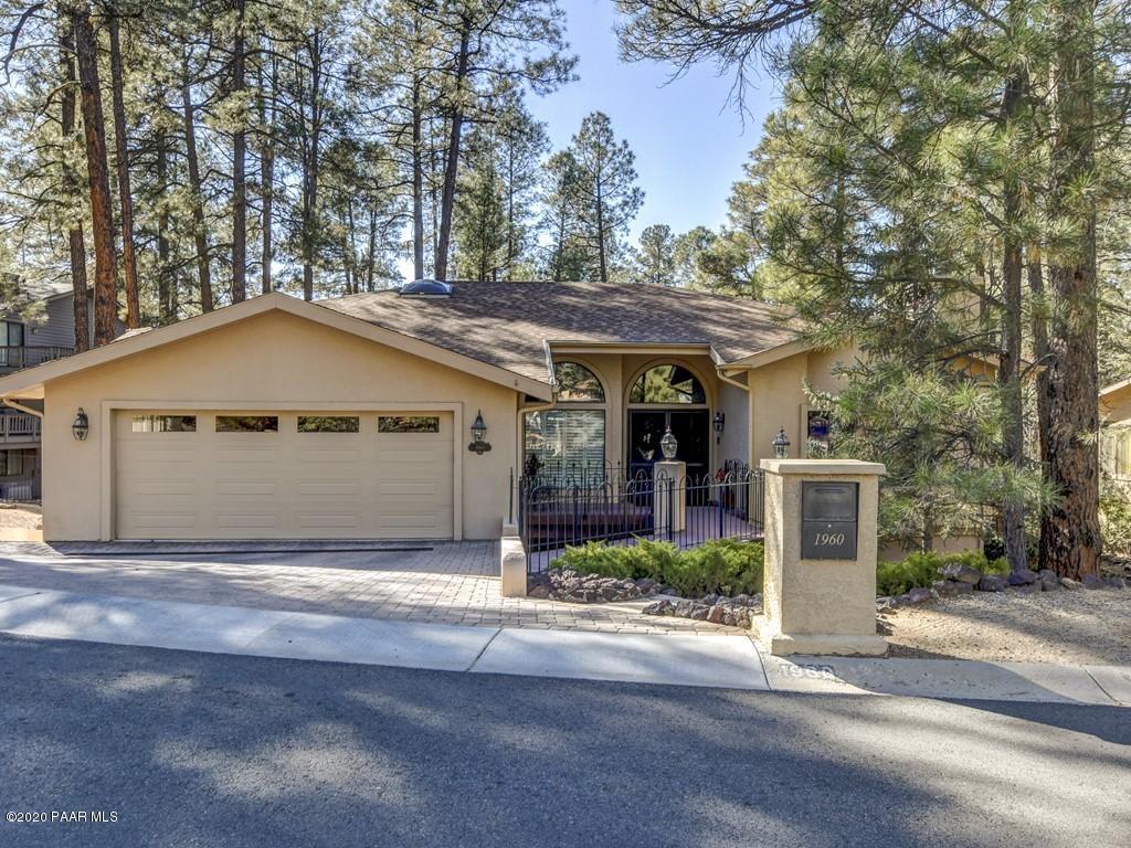 1960  Coyote Road, Prescott in Yavapai County, AZ 86303 Home for Sale