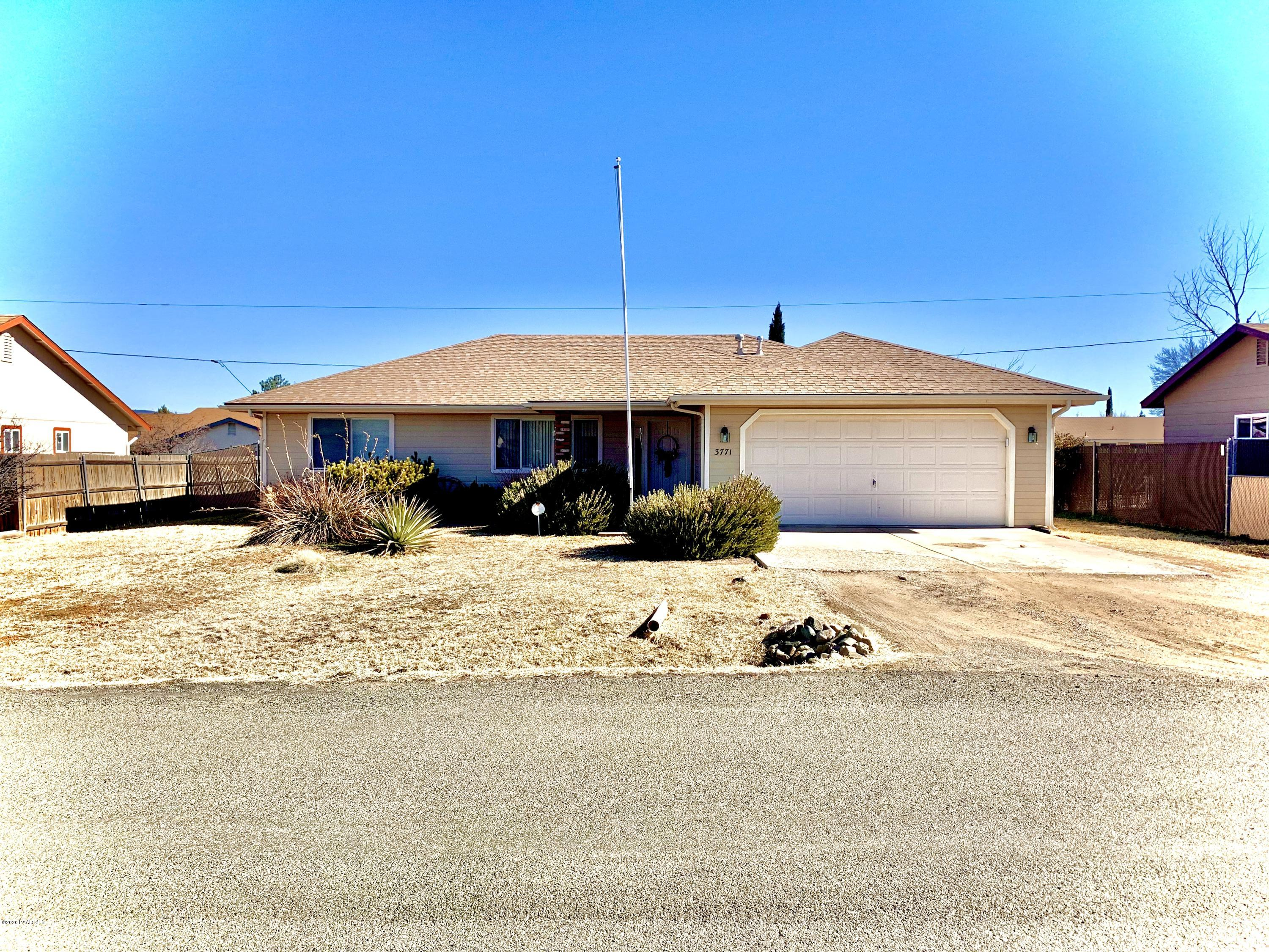 One of Prescott Valley 3 Bedroom Homes for Sale at 3771 N Catherine Drive
