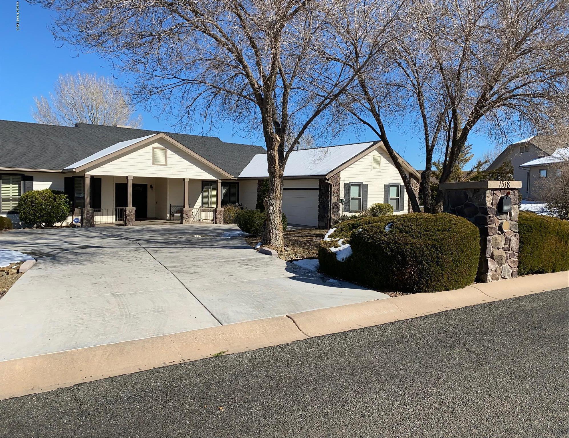 1518  Gettysvue Way, Prescott in Yavapai County, AZ 86301 Home for Sale
