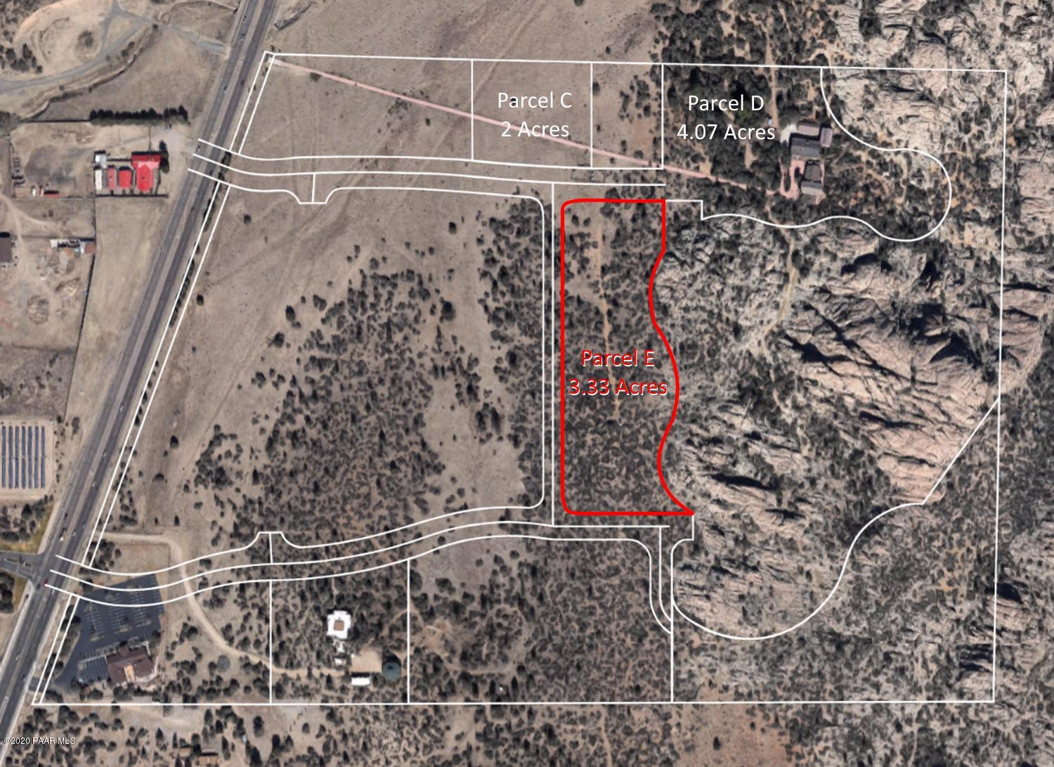 3855 Lot E  Willow Creek Road, Prescott, Arizona 0 Bedroom as one of Homes & Land Real Estate