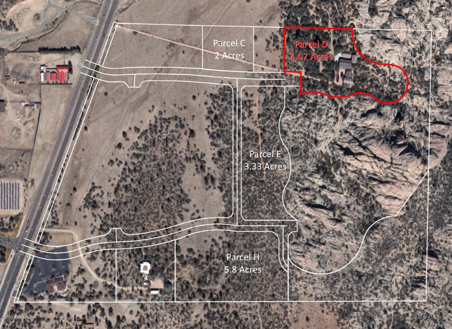 3855 Lot D  Willow Creek Road, Prescott, Arizona 0 Bedroom as one of Homes & Land Real Estate